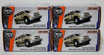 '00 Chevy Suburban * Lot Of 4 * 2018 Matchbox Power Grabs * Boone County Sheriff