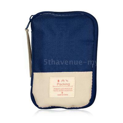 Camping Hiking Travel Home Outdoor Survival Kits Emergency Pouch Case First I0V4