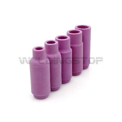 TIG Welding Alumina Nozzle Ceramic Cup fit WP 17 18 26 Torch Consumable Kit 5PCs