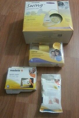 Medela Swing Single Electric Breast Pump Model 67050 WITH EXTRA