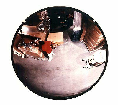 Indoor Circular Convex Security Mirror Work Office Warehouse Safety Parking Car