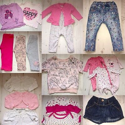 baby girls clothes 9-12 months bundle