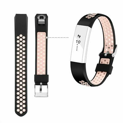 Silicone Sport Wrist Band Strap Replacement Pink Small for Fitbit Alta / Alta HR
