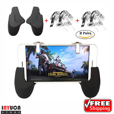 Fortnite PUBG Mobile Game Trigger Controller Android Ios Sensitive Shoot Aim Key