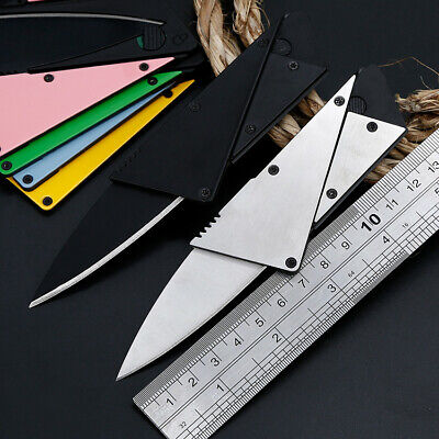 """4"""" Tactical Fiexed Knife Folding Survival Outdoor Pocket Blade Open Stainless"""