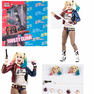 Figuarts SHF Suicide Squad Harley Quinn 6/'/' Action Figure Toy New In Box S.H
