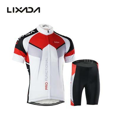 Hommes respirant Quick Dry Comfortable Jersey à manches courtes + Shorts O7Z1