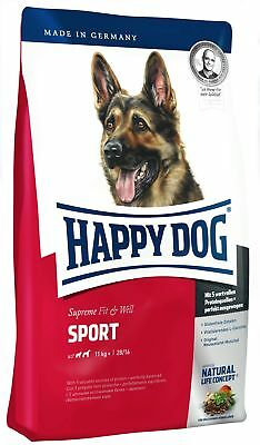 15 kg HAPPY DOG Fit & well adult sport
