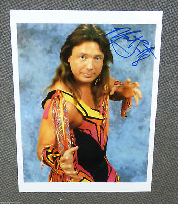 Marty Jannetty The Rockers Autogramm signed Promo WWF WWE !