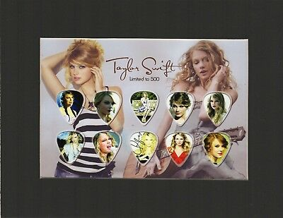 Taylor Swift Matted Picture Guitar Pick Limited 500 Delicate End Game