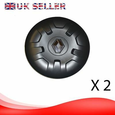 2X RENAULT MASTER MK3  alloy wheel center cap cover (pair)