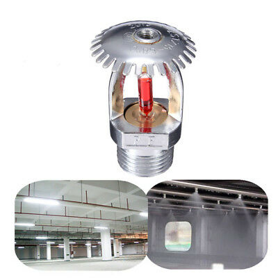 1/2 Inch 68℃ Upright Fire Sprinkler Head For Fire Extinguishing System