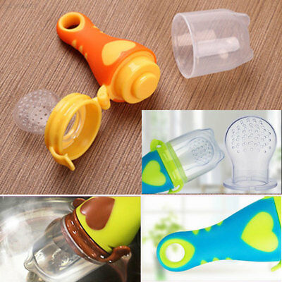 BE9F Pacifiers Pacifier Fruits Food Convenient Nipple