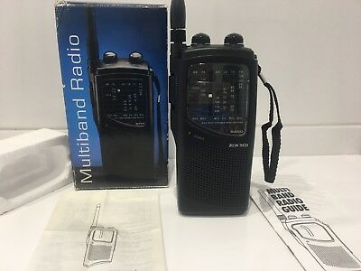 Zeon Tech multiband receiver air cb radio Scanner