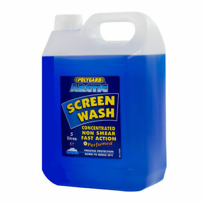 Polygard 5 Litre Concentrated Winter Arctic Screenwash -20C Protection