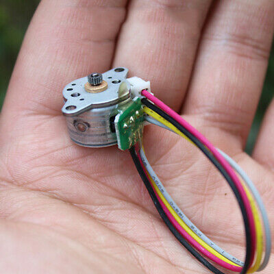 15mm DC 6V 2-phase 4-wire Mini Precision Metal Gearbox Gear Stepper Motor Robot
