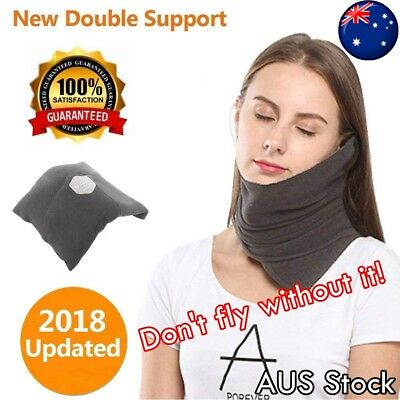 Upgraded Travel Neck Support Pillow Evolution Airplane Flight Pillow