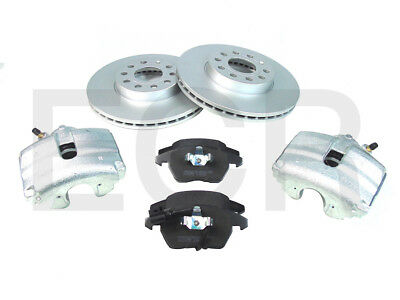 VW Golf MK5 2.0 TDI 170 BHP 2004-2008 Front Brake Calipers Discs & Pads | 288mm