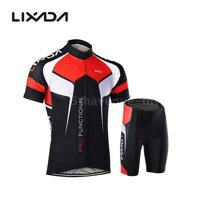 Hommes respirant Quick Dry Comfortable Jersey à manches courtes + Shorts B6N0