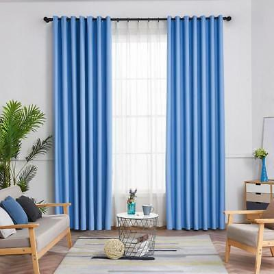 Curtain Blackout Window Grommet Lined Panel New 2 Thermal Panels Insulated Foam