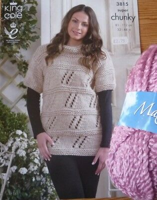 King Cole Maxi-lite Super Chunky Sweater Knitting Kit