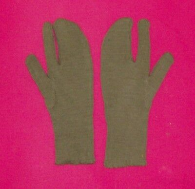 WW 2 Military, trigger finger wool gloves