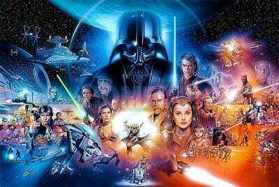 """5D Diamond Full Square/Round embroidery mosaic """"Star Wars collage"""""""