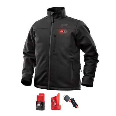 "Milwaukee 202B-21 ""Xtra-Large"" Black Heated Jacket w/ M12 Battery & Charger"