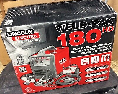 Lincoln Electric K2515-1 Weld Pak 180HD 180 Amp MIG Wire Feed Welder
