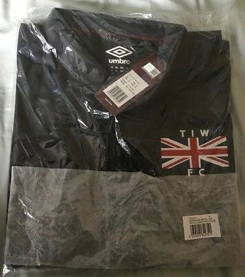Bnwt West Ham Umbro Thames Ironworks Commemorative 3Rd Shirt- Xl