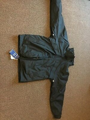 BNWT  3in1 Stormdri warm winter waterproof Coat Black XS detachable fleece