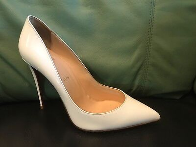 494ee33b24 Christian Louboutin So Kate 120 Nude Patent Leather Point toe pumps 40.5  Heels