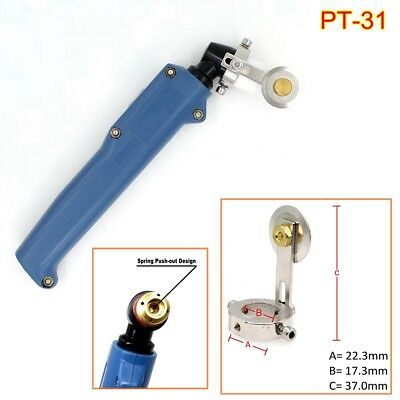 PT-31 Plasma Cutter Consumables Kits Cutting Torch with Roller Guide for CUT50