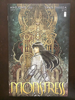 Monstress 2015 #1 First Printing Image Comic Book. Signed! NM Condition.