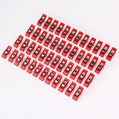 AC_ 50Pcs Pack Wonder Clips for Quilting Sewing Knitting Crochet Craft Tools Swe