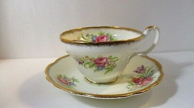 Vintage Foley Tulip Fine Bone China Porcelain Tea Cup and Saucer 270r