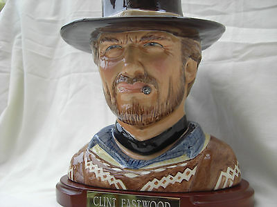 Clint Eastwood.RARE. toby jug. prototype.  LIMITED EDITION OF ONLY 25