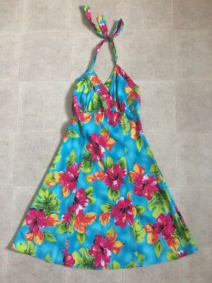 68cbeed69b90 TWO PALMS HAWAIIAN Women Summer Dress Size S Floral Design - $19.99 ...