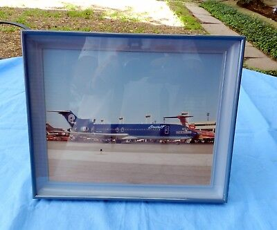 "Dallas Cowboys Nfl Original Photograph Braniff Airlines 11"" X 9"" Picture Frame"