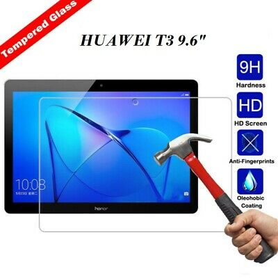 """100% Genuine TEMPERED GLASS Screen Protector Cover Huawei MediaPad T3 10"""" inch"""