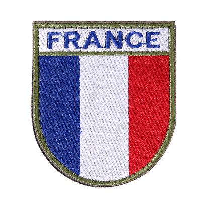 FLAG PATCH PATCHES embroidered iron / sew badge backpack