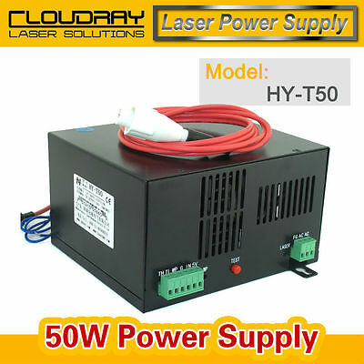 Laser Power Supply Co2 Model Machine Engraving Engraver Uniphase 50W Diode New