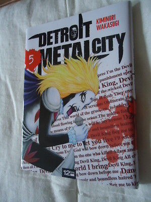// NEUF DETROIT METAL CITY Tome 5 DMC MANGA EO VF DEATH KISS ROCK POP MUSIQUE