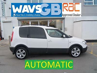 Skoda Roomster 1.2 TSI Auto Scout Wheelchair Access Vehicle WAV