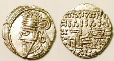 AC#CD Kings of Parthia Vologases IV Silver Coin AD147-191. AR Drachm 3.6g 19mm