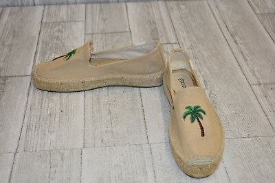 a095e36c461 SOLUDOS WOMEN S EMBROIDERED Smoking Slipper Espadrilles Size 7 Sand ...