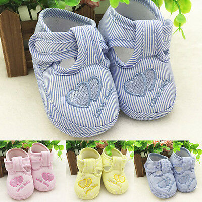 AC_ CN_ Cotton Heart Baby Soft Sole Skid-Proof First Walkers Kids Infant Shoes N