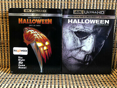 Halloween 1978/2018 4K (4-Disc Blu-ray, 2019)+Slipcover.John Carpenter