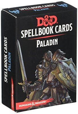 Gale Force 9 73919 DD Spellbook Cards Paladin Deck