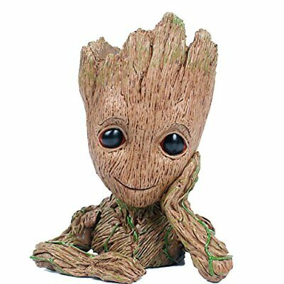 GuangTouL Groot Action Figures Guardians of The Galaxy Flowerpot Baby Cute Model